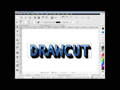 DrawCut PRO - Font effects